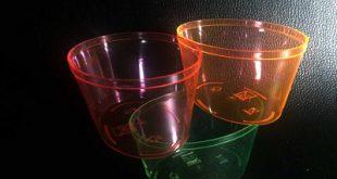 ظروف دسری و جام شفاف