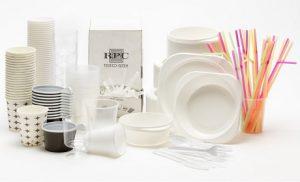ظروف یکبار مصرف پلاستیکی درجه یک